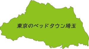 埼玉県の地図画像
