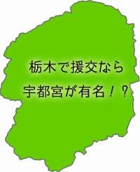 栃木県の地図の画像