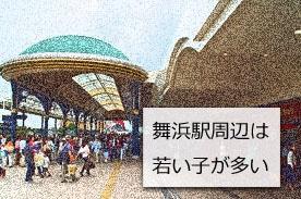 舞浜駅周辺の画像