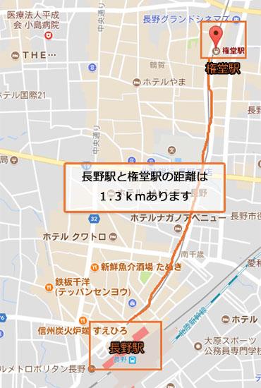 長野駅と権堂駅での援交の画像