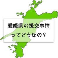 愛媛県の地図の画像