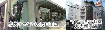 新潟駅周辺の待ち合わせスポットの画像