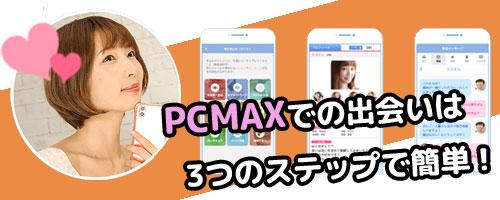 PCMAXの出会いの流れ