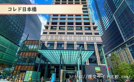 日本橋駅周辺の援交女性ナンパスポット「コレド日本橋」の画像