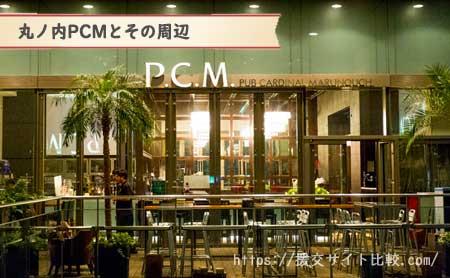 東京駅周辺の援交女性ナンパスポット「丸ノ内PCMとその周辺」の画像