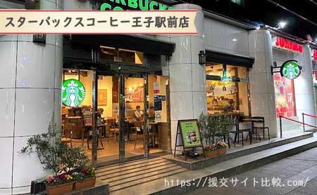 王子駅周辺の援交女性ナンパスポット「スターバックスコーヒー王子駅前店」の画像