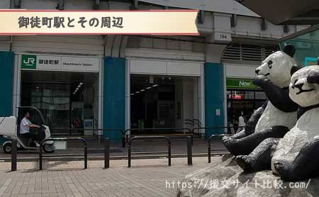 御徒町駅周辺の援交女性ナンパスポット「御徒町駅とその周辺」の画像
