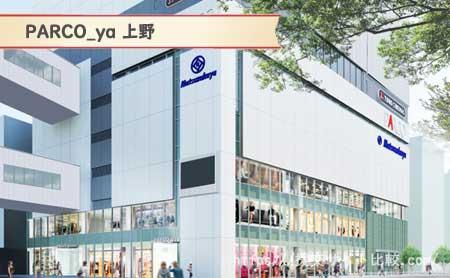 御徒町駅周辺の援交女性ナンパスポット「PARCO_ya 上野」の画像
