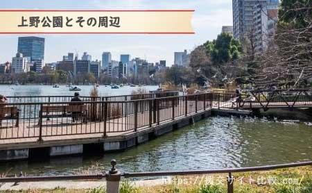 上野駅周辺の援交女性ナンパスポット「上野公園」の画像